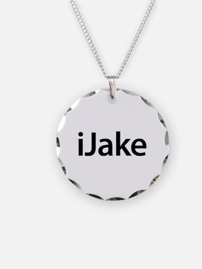 iJake Necklace Circle Charm