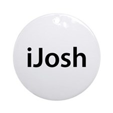 iJosh Round Ornament