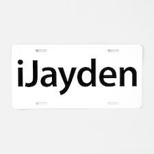 iJayden Aluminum License Plate