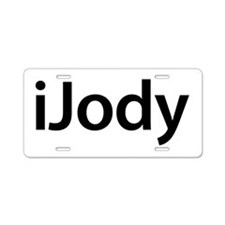 iJody Aluminum License Plate
