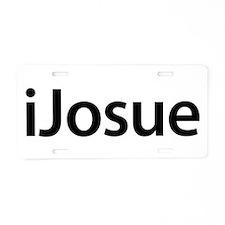 iJosue Aluminum License Plate