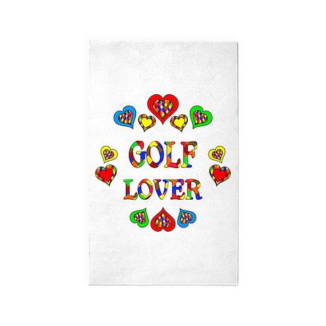 Golf Lover 3'x5' Area Rug