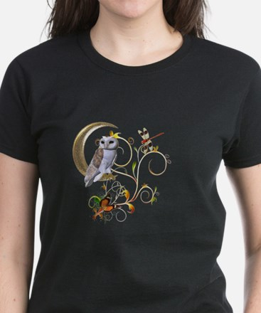 Owl Fantasy Women's Dark T-Shirt