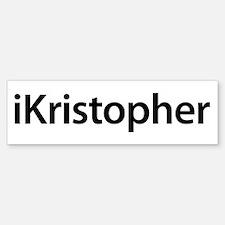 iKristopher Bumper Bumper Bumper Sticker