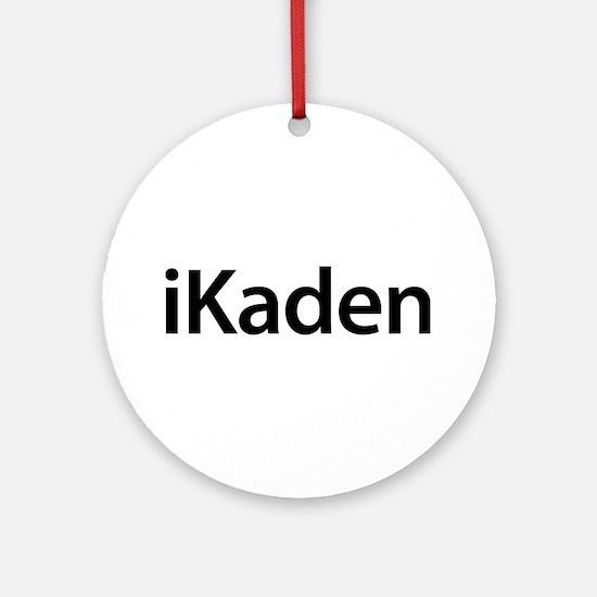 iKaden Round Ornament