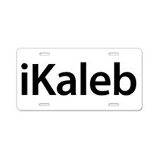 iKaleb Aluminum License Plate
