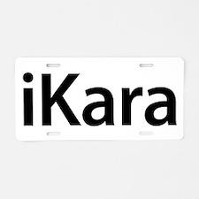 iKara Aluminum License Plate