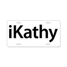 iKathy Aluminum License Plate
