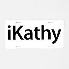 iKathy Aluminum License Plate