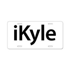 iKyle Aluminum License Plate