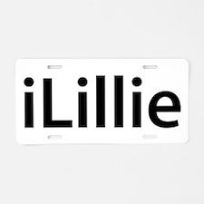 iLillie Aluminum License Plate
