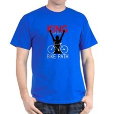 """King of the Bike Path"" T Shirt"