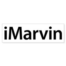 iMarvin Bumper Bumper Sticker