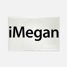 iMegan Rectangle Magnet