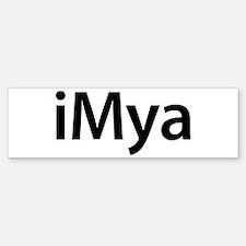 iMya Bumper Bumper Bumper Sticker