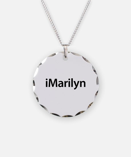 iMarilyn Necklace Circle Charm