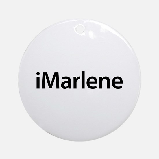 iMarlene Round Ornament