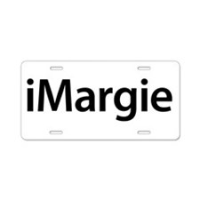 iMargie Aluminum License Plate