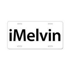 iMelvin Aluminum License Plate