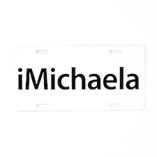 iMichaela Aluminum License Plate