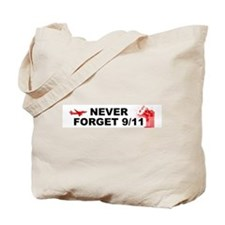 Never Forget 911 Tote Bag