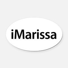 iMarissa Oval Car Magnet