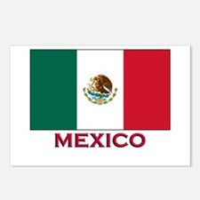 Mexico Flag Stuff Postcards (Package of 8)