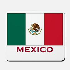 Mexico Flag Stuff Mousepad