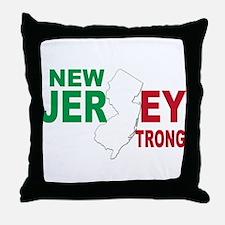 New jersey italian Throw Pillow