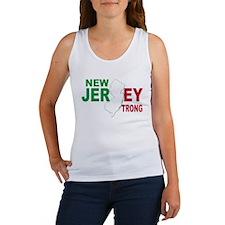 New jersey italian Women's Tank Top