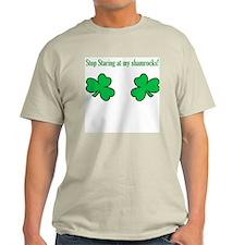 Shamrocks Ash Grey T-Shirt