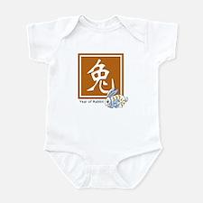 Chinese Rabbit Zodiac Infant Bodysuit