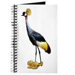 Crowned Crane Wearing Shoes Journal