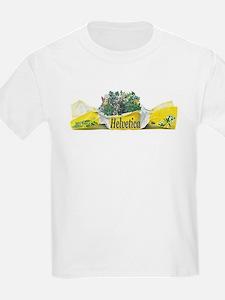 Helvetica Fun Humour Kids T-Shirt