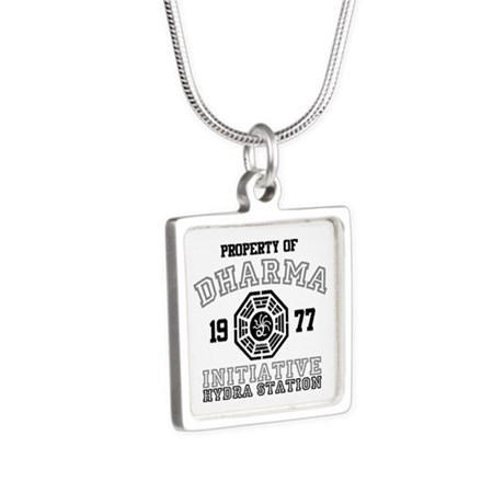 Property of Dharma - Hydra Silver Square Necklace