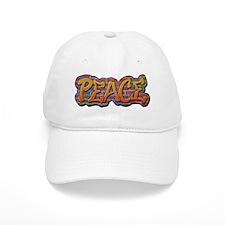 Peace Graffiti Baseball Cap