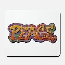 Peace Graffiti Mousepad