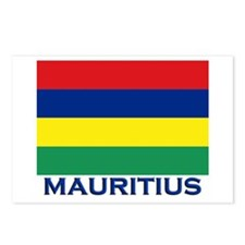 Mauritius Flag Gear Postcards (Package of 8)