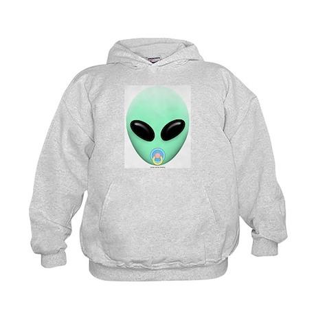 Baby Alien Kids Hoodie