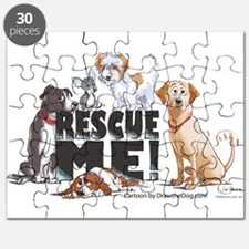 Funny Shelter rescue dogs Puzzle