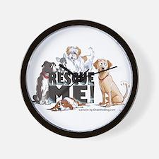 Funny Animal shelter Wall Clock