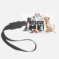 Cute Animal shelter Luggage Tag