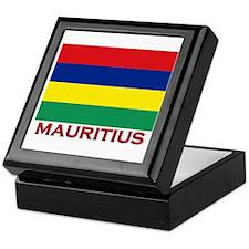 Mauritius Flag Merchandise Keepsake Box