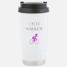 Cycling Warrior Stainless Steel Travel Mug