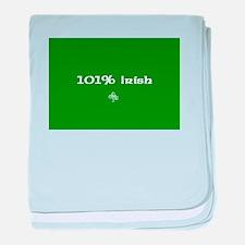 101%Irish baby blanket