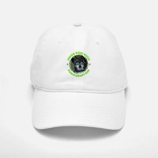 Adopt A Senior Dog Baseball Baseball Cap