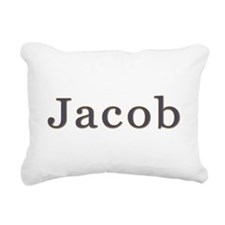 Gift for Jacob Rectangular Canvas Pillow