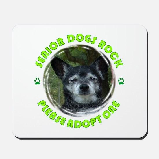 Adopt A Senior Dog Mousepad