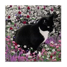 Freckles in Flowers II Tile Coaster