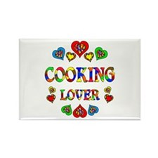 Cooking Lover Rectangle Magnet (100 pack)